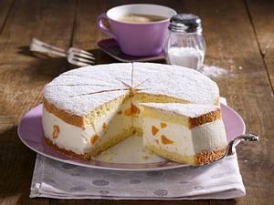 Käse-Sahne-Torte mit Mandarinen Rezept