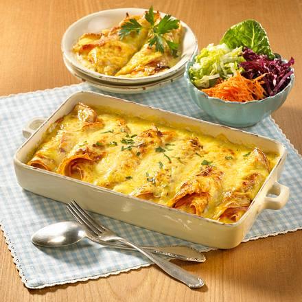 Käse-Schinken-Crespelle  Rezept