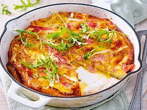 Käse-Schinken-Omelett Rezept