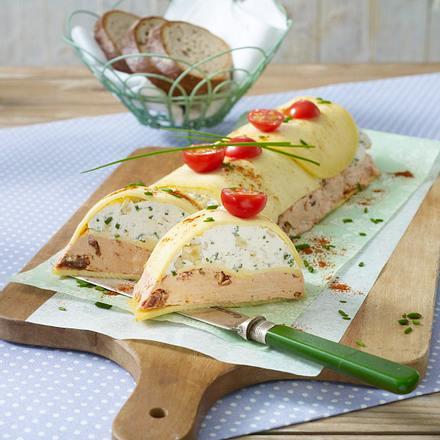 Käse-Terrine Osterbrunch Rezept