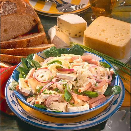 Käse-Wurst-Salat Rezept