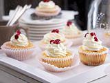 Käsekuchen-Cupcakes mit Shortbread Rezept
