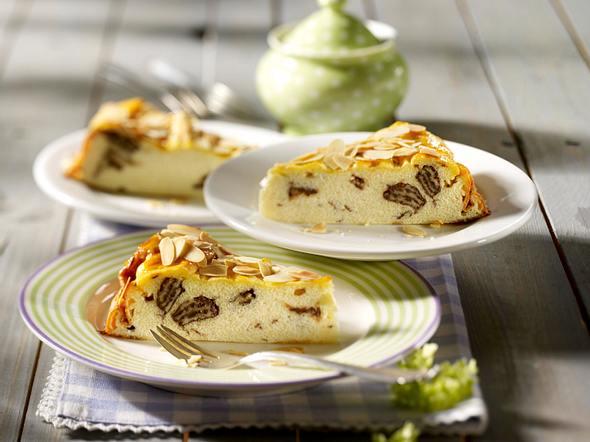 Käsekuchen mit Schoko-Waffel-Stückchen Rezept