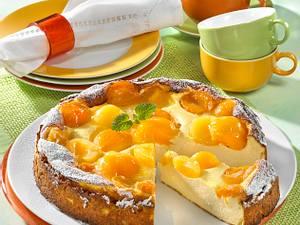 Käsekuchen ohne Boden mit Frucht ( Diabetiker) Rezept