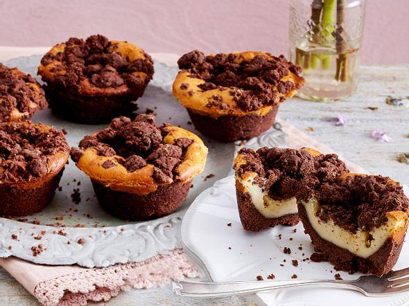 Käsekuchen-Streusel-Muffins Rezept