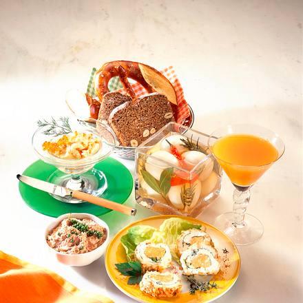 Käserolle (Raffiniertes Frühstück) Rezept