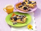 Kaffee-Beeren-Käseblechkuchen Rezept