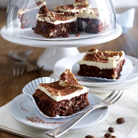 Kaffee-Brownies Rezept