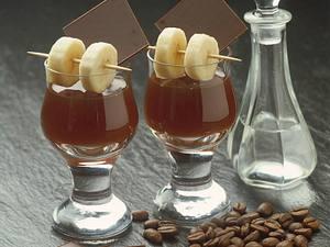 Kaffee mit Bananenlikör Rezept