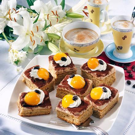Kaffee-Nuss-Kuchen Rezept