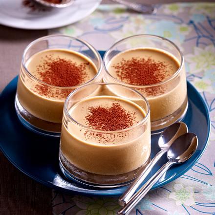 Kaffee-Panna Cotta Rezept