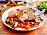 """Kalbsroulade """"Försterin"""" mit Kartoffel-Mandel-Füllung Rezept"""