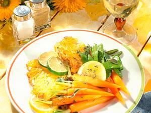 Kalbsschnitzel in Kartoffelhülle Rezept
