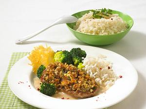 Kalbsschnitzel mit Walnuss-Kruste Rezept