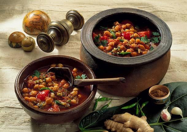 Kalib Channa (Würzige Kichererbsen) Rezept