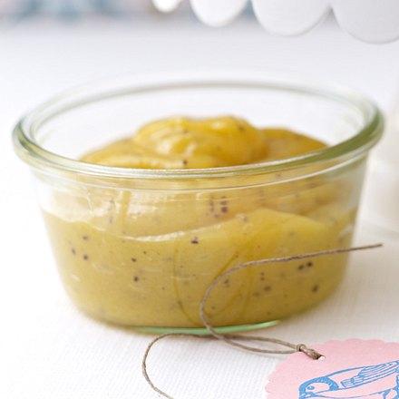 Kalt gerührte Mango-Kiwi-Konfitüre Rezept