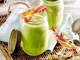 Kalte Gurken-Wasabi-Suppe Rezept