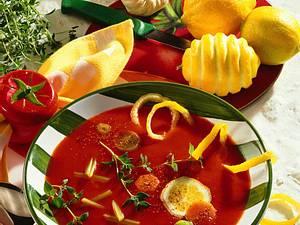 Kalte Tomatensuppe Rezept