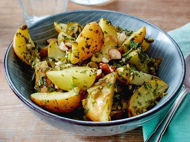 Kanarischer Kartoffelsalat Rezept