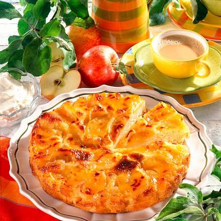 Karamelisierter Apfelkuchen Rezept