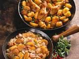 Karamell-Kartoffeln mit Mais Rezept