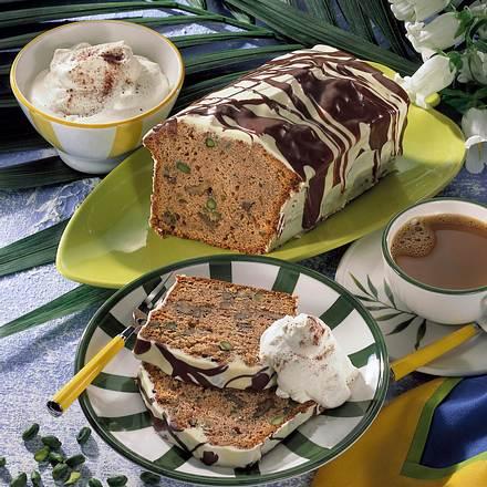 Karamell-Kastenkuchen mit Nüssen Rezept