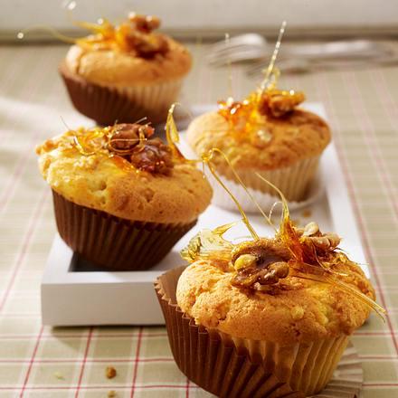 Karamell-Muffins mit Walnüssen Rezept