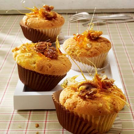 karamell muffins mit waln ssen rezept chefkoch rezepte auf kochen backen und. Black Bedroom Furniture Sets. Home Design Ideas
