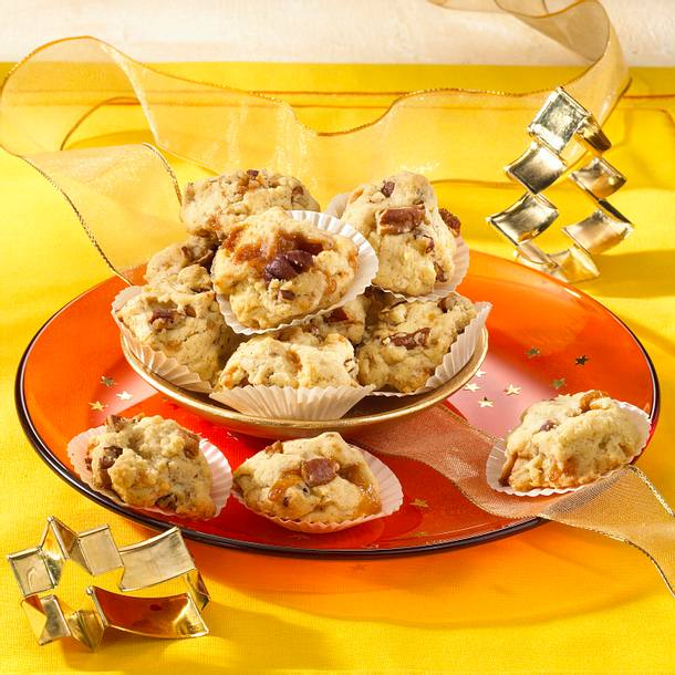 Karamell-Pecannuss-Cookies Rezept