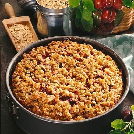 Karamell-Pflaumen-Kuchen Rezept