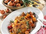 Karamell-Schalotten zu Senf-Steaks Rezept