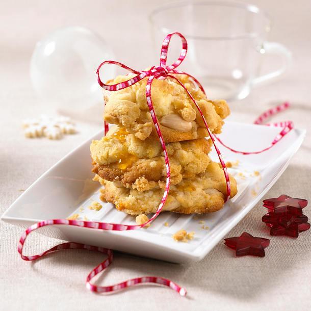 Karamell-Streusel-Cookies  Rezept