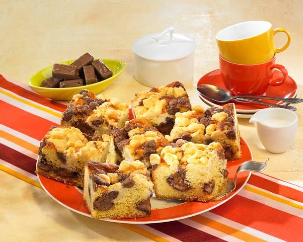 Karamell-Streuselkuchen Rezept