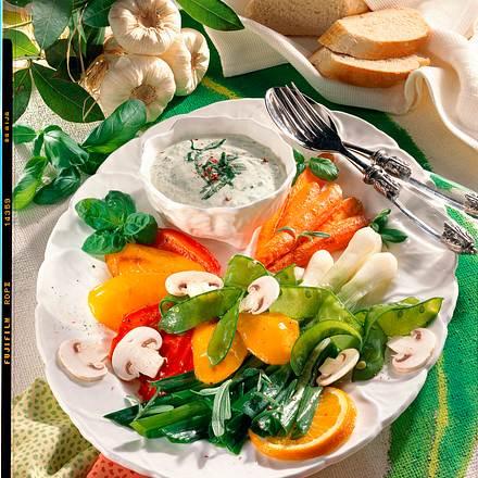 Karamellisierte Gemüseplatte Rezept