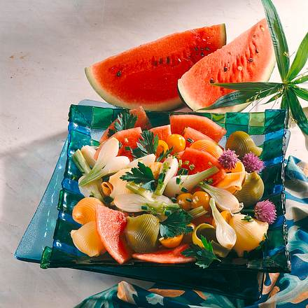 Karamellisierter Salat Rezept
