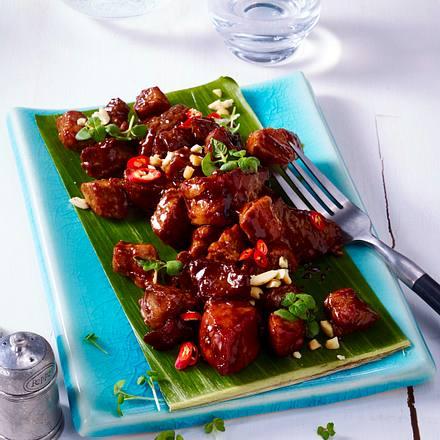 Karamellisiertes Schweinefleisch Rezept
