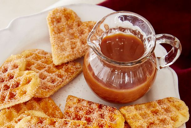 Karamellsoße mit feiner Salznote Rezept