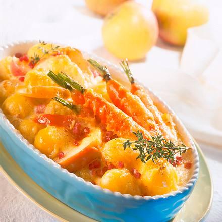 Kartoffel-Apfel-Auflauf Rezept