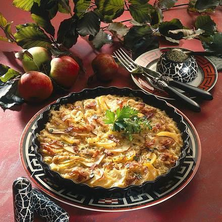 Kartoffel-Apfelgratin Rezept