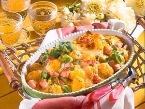 Kartoffel-Auflauf mit Käsekruste Rezept