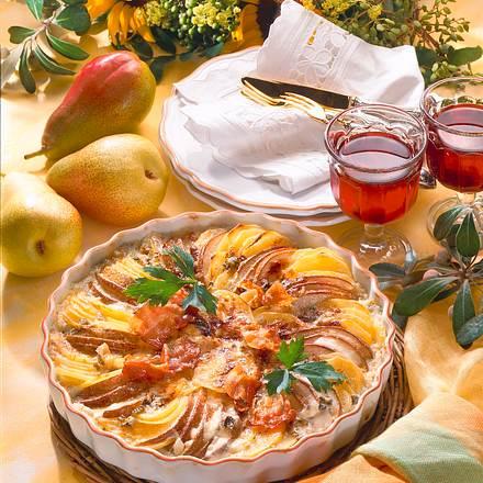 Kartoffel-Birnen-Gratin Rezept