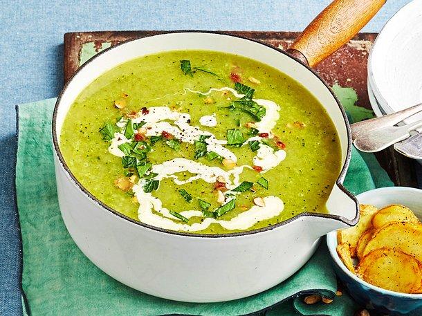 Kartoffel-Brokkoli-Suppe fürs Minibudget Rezept