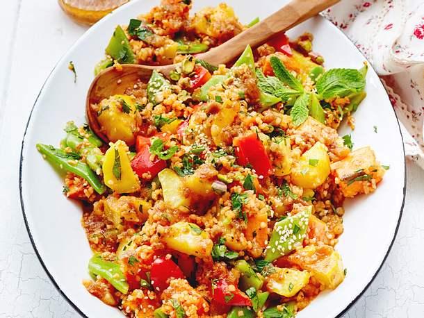 Kartoffel-Bulgur-Salat Rezept