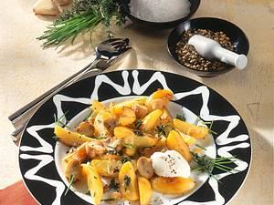 Kartoffel-Champignonpfanne Rezept