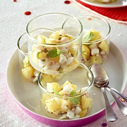 Kartoffel-Doradentatar-Salat aus dem Glas Rezept
