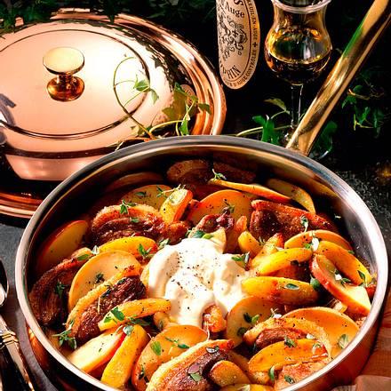 Kartoffel-Entenbrustpfanne Rezept