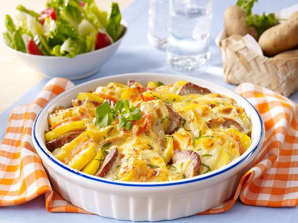 Kartoffel-Filet-Gratin Rezept
