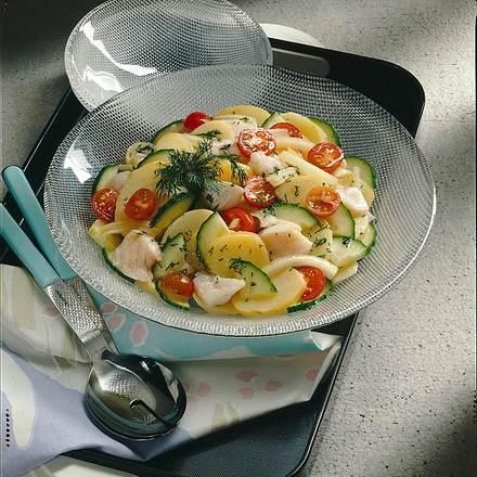 Kartoffel-Fisch-Salat Rezept