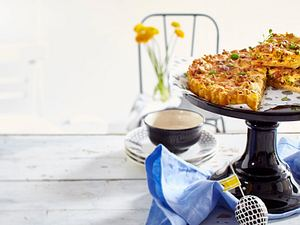 Kartoffel-Frühstücks-Quiche Rezept