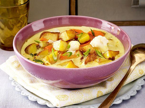 Kartoffel-Gemüse-Curry Rezept